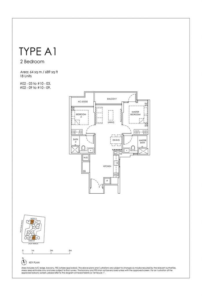 Mont Botanik Residence - Floor Plan
